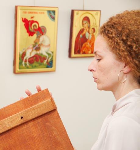 odabir ikone - slikarski atelje Zograf