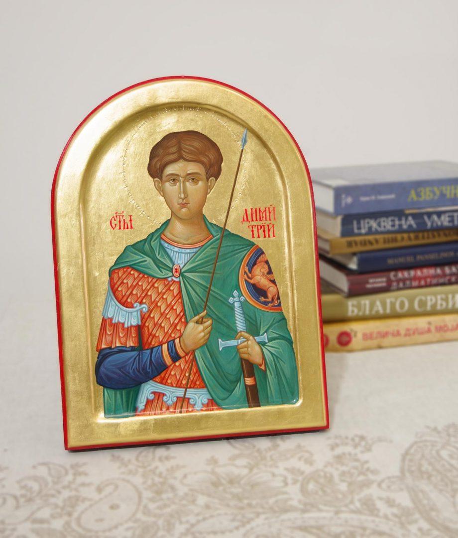 Израда и продаја икона свети Димитрије